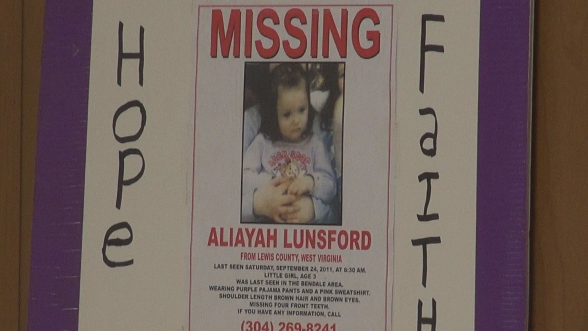 Mother of missing Lewis County girl arrested in Florida