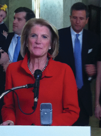 U.S. Rep Shelley Moore Capito, R-W.Va., announces Nov. 26 she will run for the U.S. Senate in 2014.