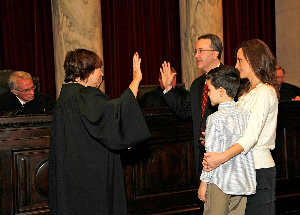 Photo courtesy of the West Virginia Supreme Court of Appeals