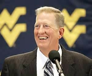WVU Coach Bill Stewart