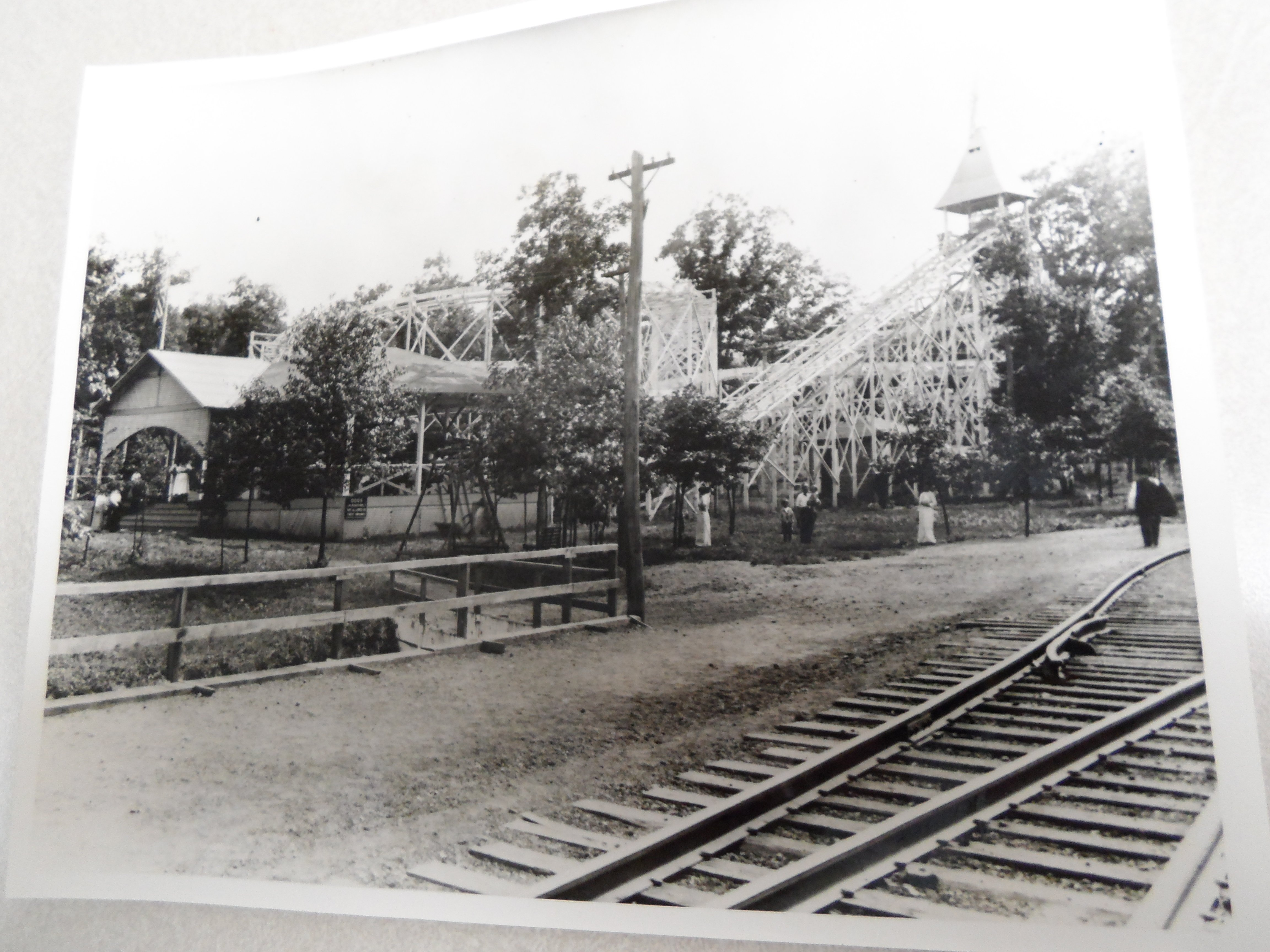 The Oak Park amusement park operated near Masontown in Preston County for about 20 years.