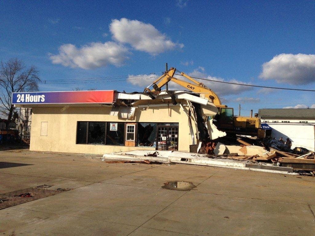 Photo courtesy U.S. Attorney's office. Eloirzazi's store, All-In-One was demolished Dec. 5.