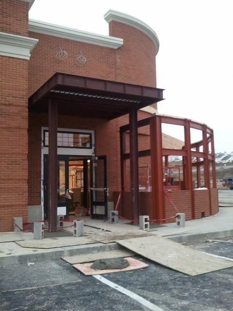 Courtesy Martin's BBQ Joint Facebook page / Construction is underway at the Martin's BBQ Joint in Morgantown.