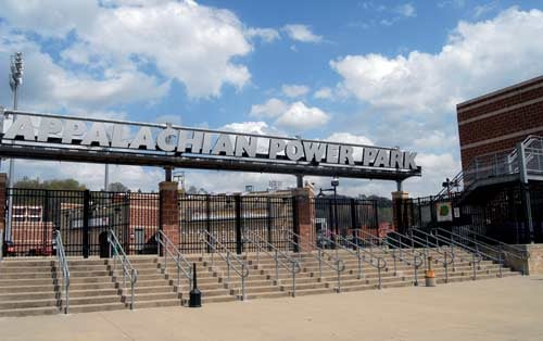 The city of Charleston opened Appalachian Power Park in 2005.