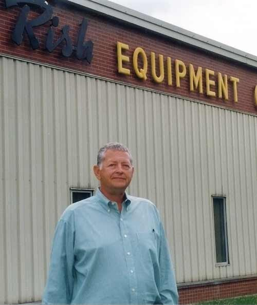 Dan Pochick retired from Rish Equipment in 2011. He rebuilt the company after it was practically liquidated in 1986.