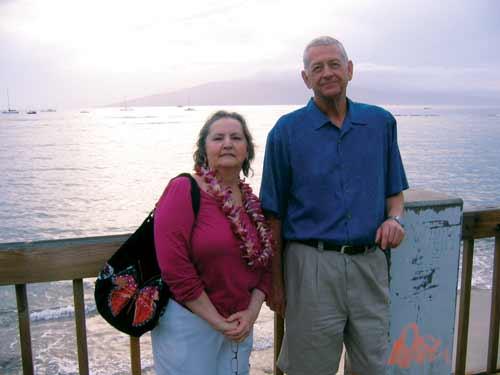 Dan Pochick and his wife Nancye.