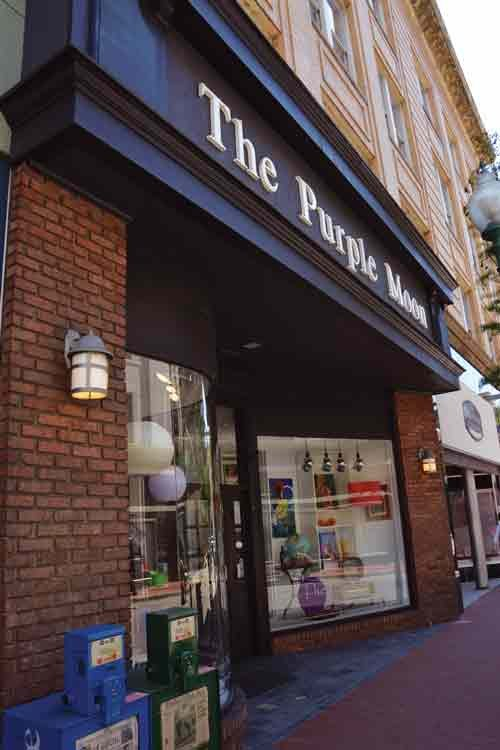 Thirty percent of The Purple Moon's sales come after its shoppers have browsed the store's collection online and stop by, according to owner Chuck Hamsher.