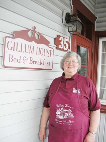 "Gillum House owner Kathleen Panek is offering an ""Elopement Package."""
