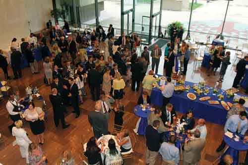 Photo courtesy of the Charleston Area Alliance. The Charleston Area Alliance hosts events at multiple locations, including the Culture Center.