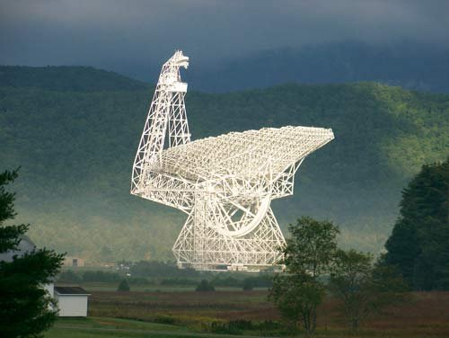 Photo courtesy of Green Bank Observatory