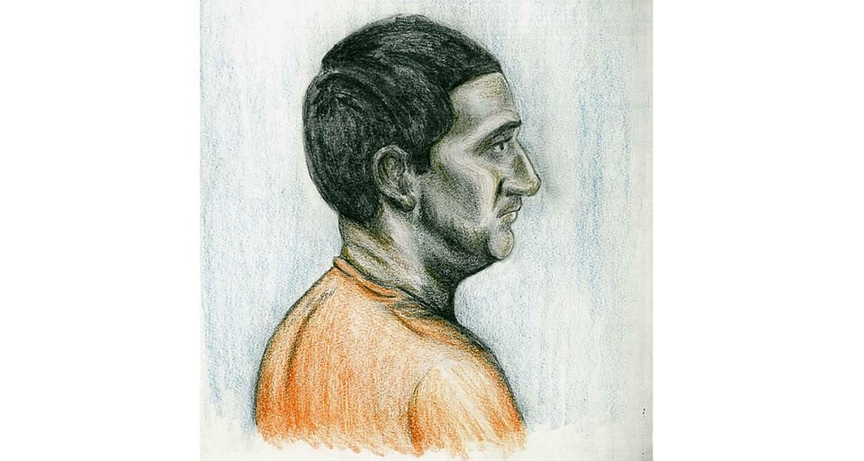 Court sketch done by WVNS photographer Patrick Williams