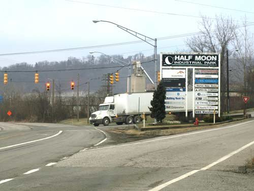 Work at the Half Moon Industrial Park in Weirton has led to a request by the city of Weirton to dissolve the Weirton Area Port Authority.