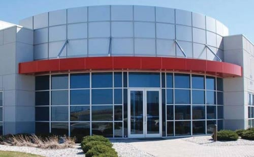 Photo courtesy of DC Corp. The exterior of the DC Corp data center in Martinsburg.