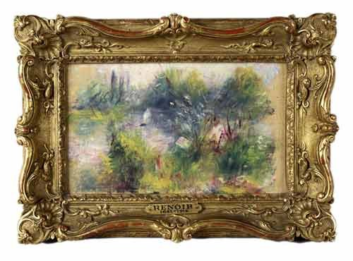 Photo courtesy of The Potomack Co. Experts determined this painting to be an authentic Renoir, but a Virginia woman's story about how it came into her possession.