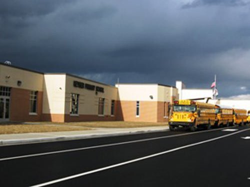 Photo courtesy Mineral County Board of Education. The new $15 million Keyser Primary School opened Jan. 8.