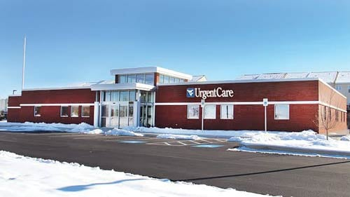 Photo courtesy of University Healthcare. A new medical facility at Windmill Crossing Development houses three practices.