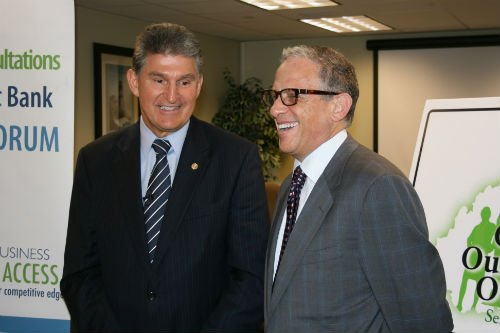 Sen. Joe Manchin and Fred Hochberg, Ex-Im Bank president