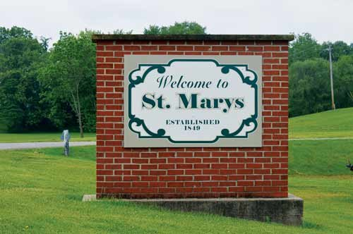 MANDI CARDOSI / The State Journal. The City of St. Marys features industry, recreation and a unique charm that brings visitors year-round.