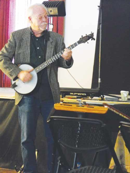 Cynthia McCloud / For The State Journal. Renowned bluegrass musician Bob Shank plays banjo and hammered dulcimer, sings and tells stories.