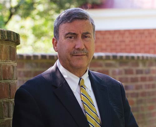Photo courtesy of University of Virginia Center for Politics. Larry Sabato is the founder and director of the University of Virginia Center for Politics and has a weekly newsletter — Sabato's Crystal Ball — that specializes in projecting elections.