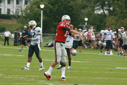 Patriots quarterback Tom Brady was a popular player during training camp at The Greenbrier