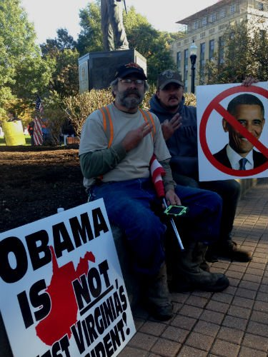 Coal Forum Rally hopes to send message to President Obama during - WVU ...
